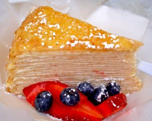 Last, but CERTAINLY not least, the Crepe Cake.